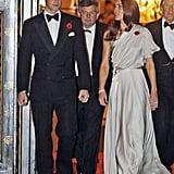 Kate wearing Jenny Packham in November 2011.