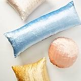 Flower-Dyed Velvet Pillows