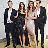 Kaia Joined Her Family on the Red Carpet at an Omega Event
