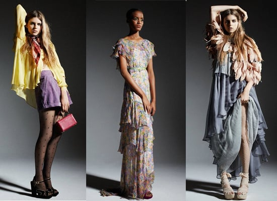 Check Out Topshop's Christmas Collection for 2010, including wide legged pants, floral maxis and lots of layering!