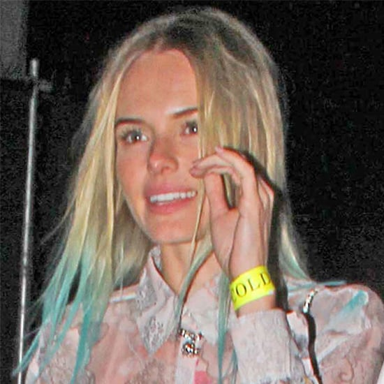 Kate Bosworth Dyes Her Hair Blue
