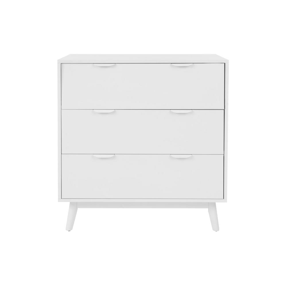 StyleWell Amerlin Shadow Gray Wood 3 Drawer Chest of Drawers