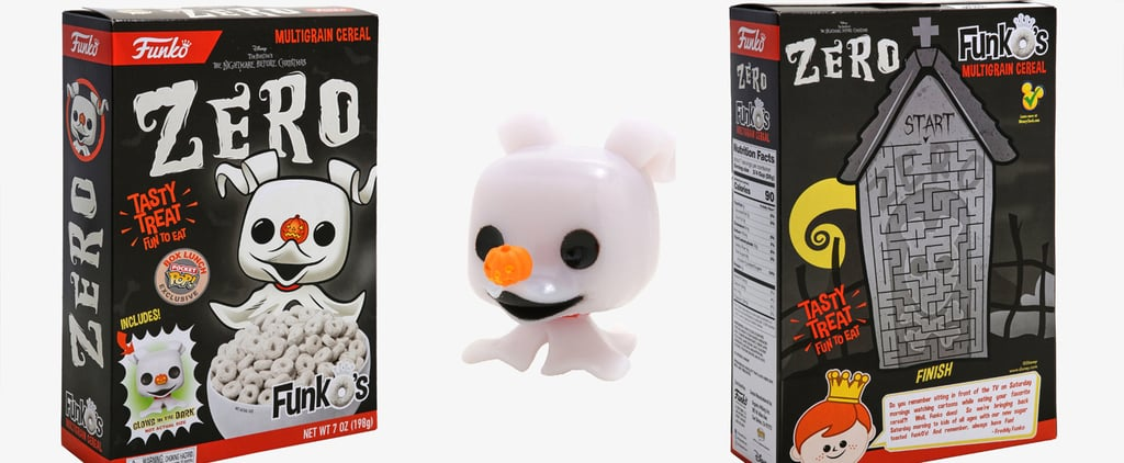 Nightmare Before Christmas Zero the Ghost Dog Cereal