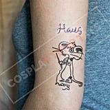 Lady Gaga Haus Mouse Temporary Tattoo