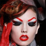 2011 Haute Couture Fashion Week Makeup
