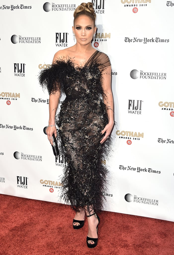 Jennifer Lopez's Ralph and Russo Gown at the Gotham Awards