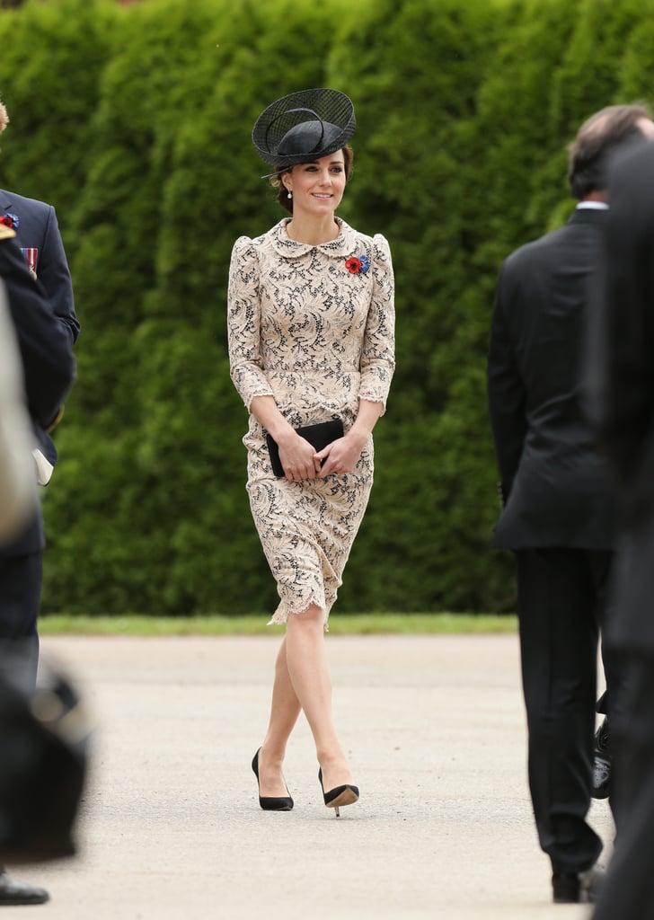 Kate Middleton's Lace Dress July 2016