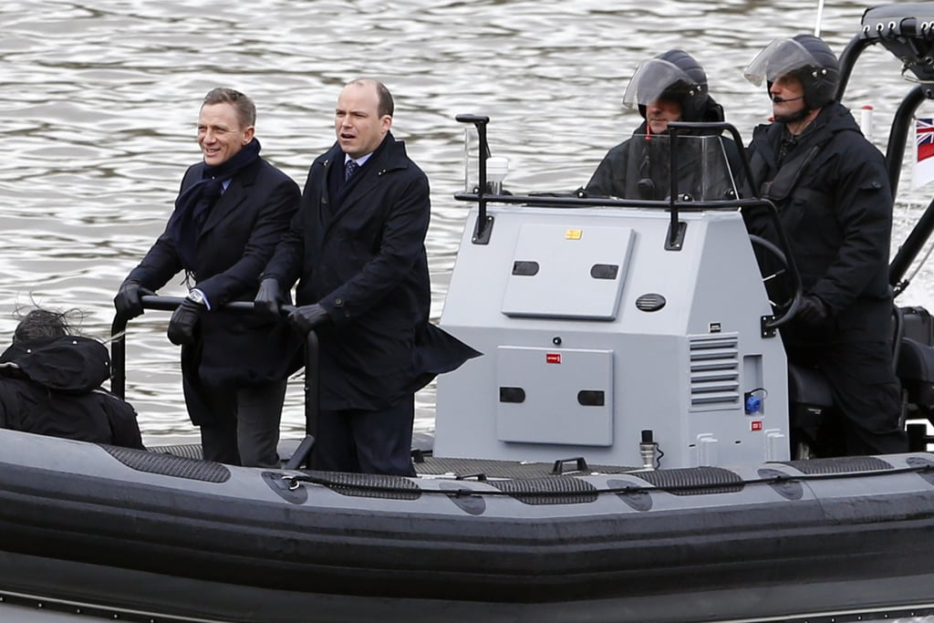 Daniel Craig Is Already Looking Sexy as Bond in the First Spectre Set Pictures