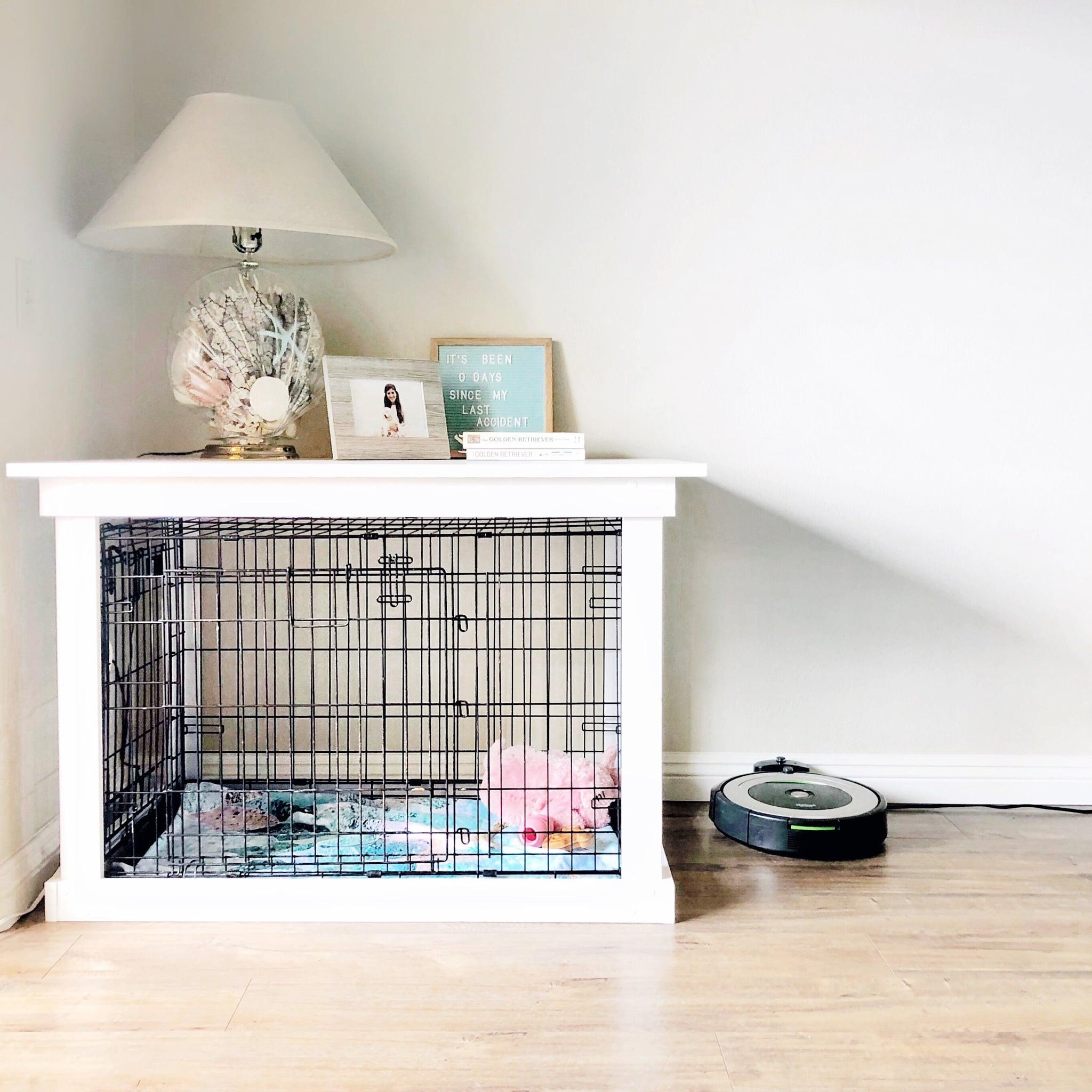 Diy Dog Crate Popsugar Home