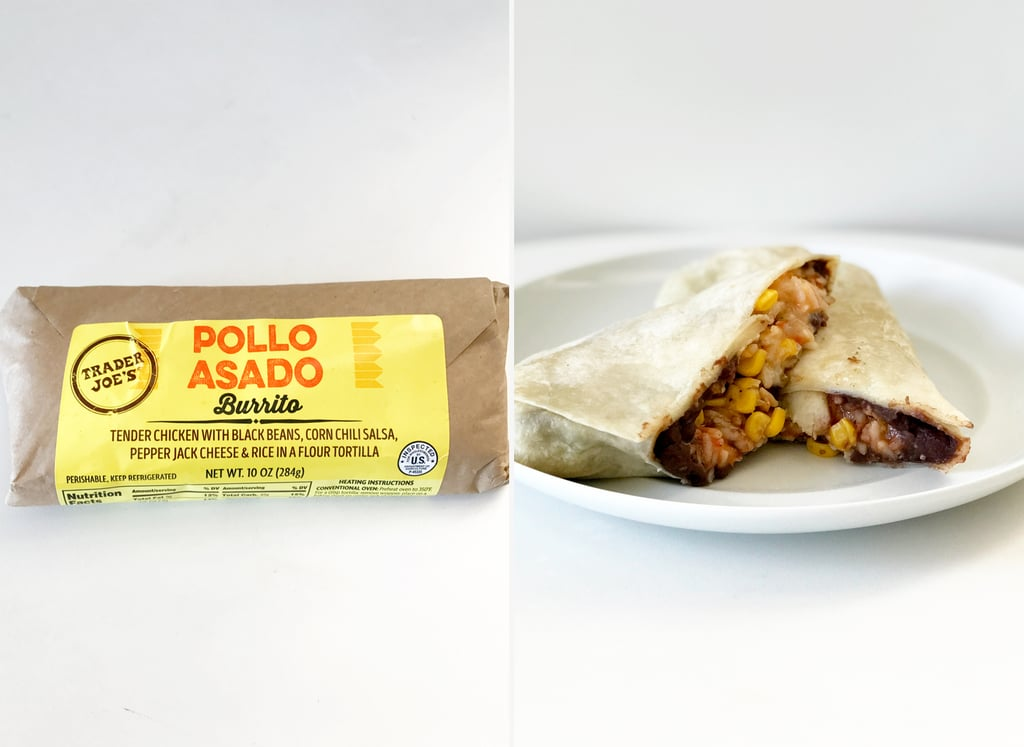 Pick Up: Pollo Asado Burrito ($4)