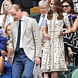 Prince William and Kate Middleton at Wimbledon July 2016