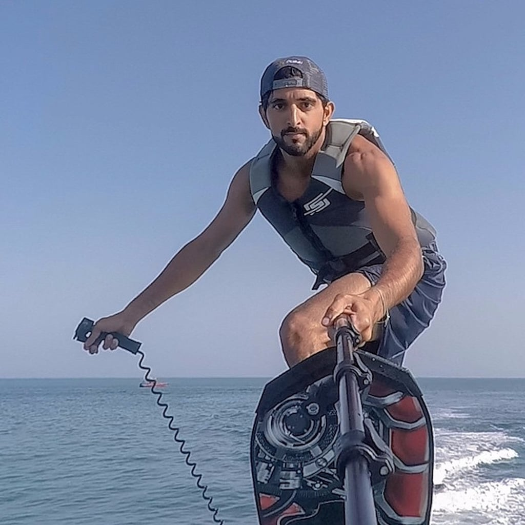 Our 35 Favorite Pictures of Sheikh Hamdan in Honor of His 35th Birthday