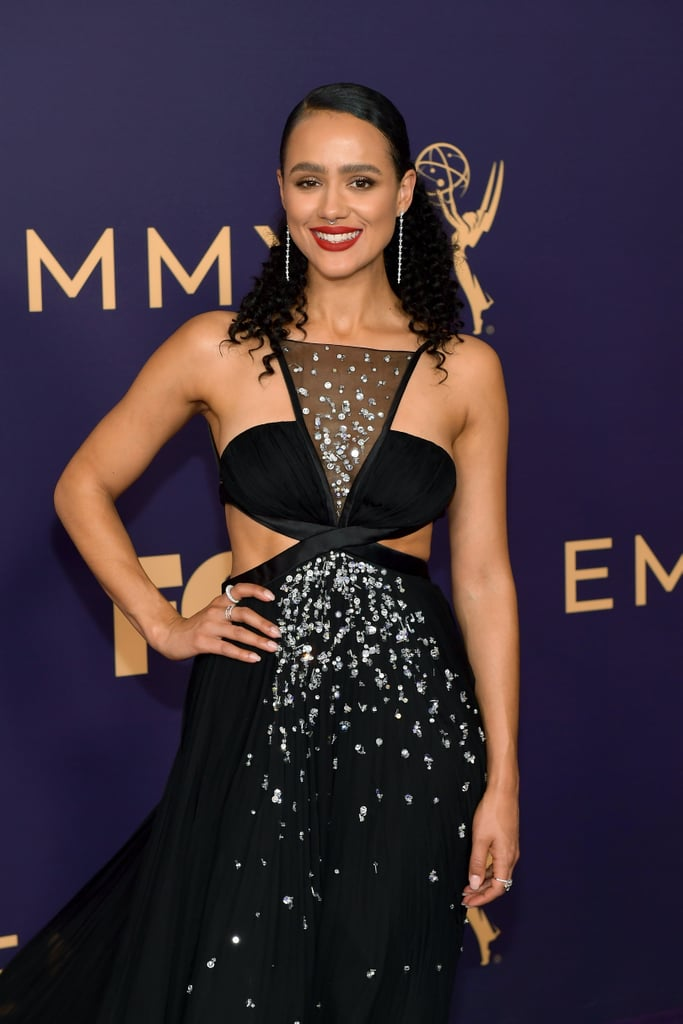Nathalie Emmanuel at the 2019 Emmys