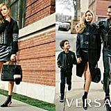 Gigi Hadid and Karlie Kloss Versace Campaign Fall 2016