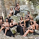 Lakisha Cohill brought a small army of women together in an outdoor photo shoot that shows how strong breastfeeding moms really are.