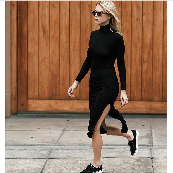 Black Trainers Outfit Ideas | POPSUGAR