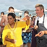 Oprah and Curtis Stone
