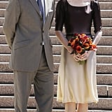 Frederik and Mary on the steps of the Sydney Opera House in March 2005.