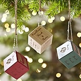 For Infants: Baby Block Personalized Ornaments