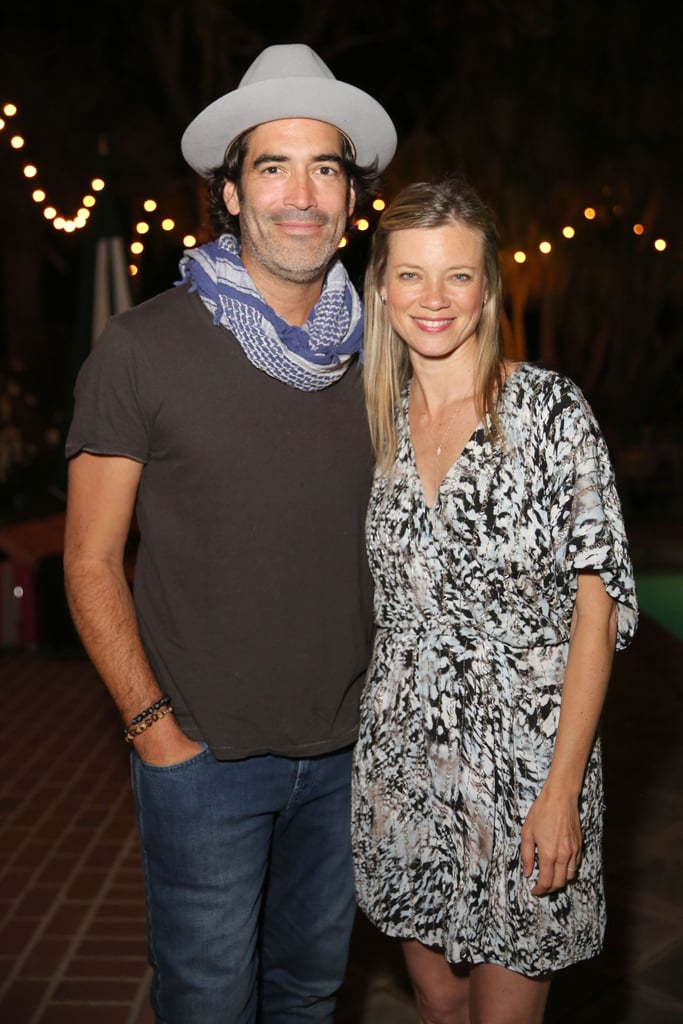 Amy Smart and Carter Oosterhouse at Home