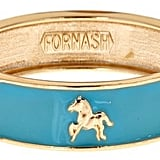 Fornash Enamel Horse Bangle ($25)