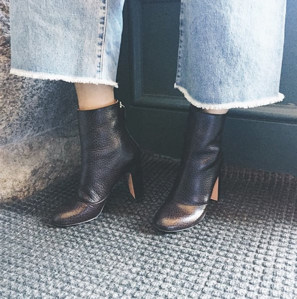 Swap Sandals For Ankle Booties Once Fall Arrives