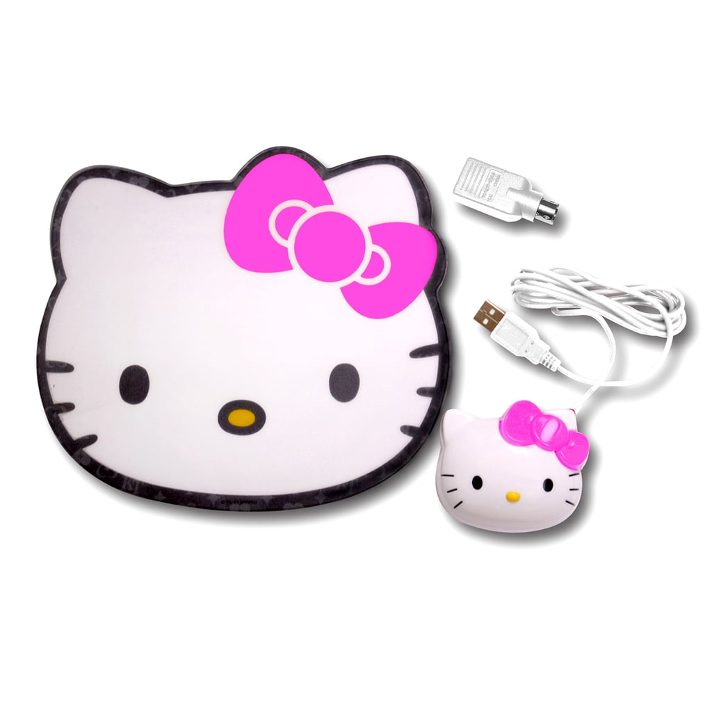 Hello Kitty Pad and Mouse