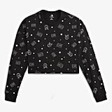 Converse x Miley Cyrus Monogram Women's Long-Sleeve Crop T-Shirt ($45)