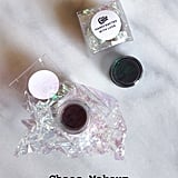 Chaos Makeup Multi-Chrome Pigments ($18) — I used the Magma ($18) pigment and Rebel Girl ($18).
