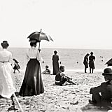 1905 This looks like no day at the beach — except it is.  Source: Flickr User foxtongue