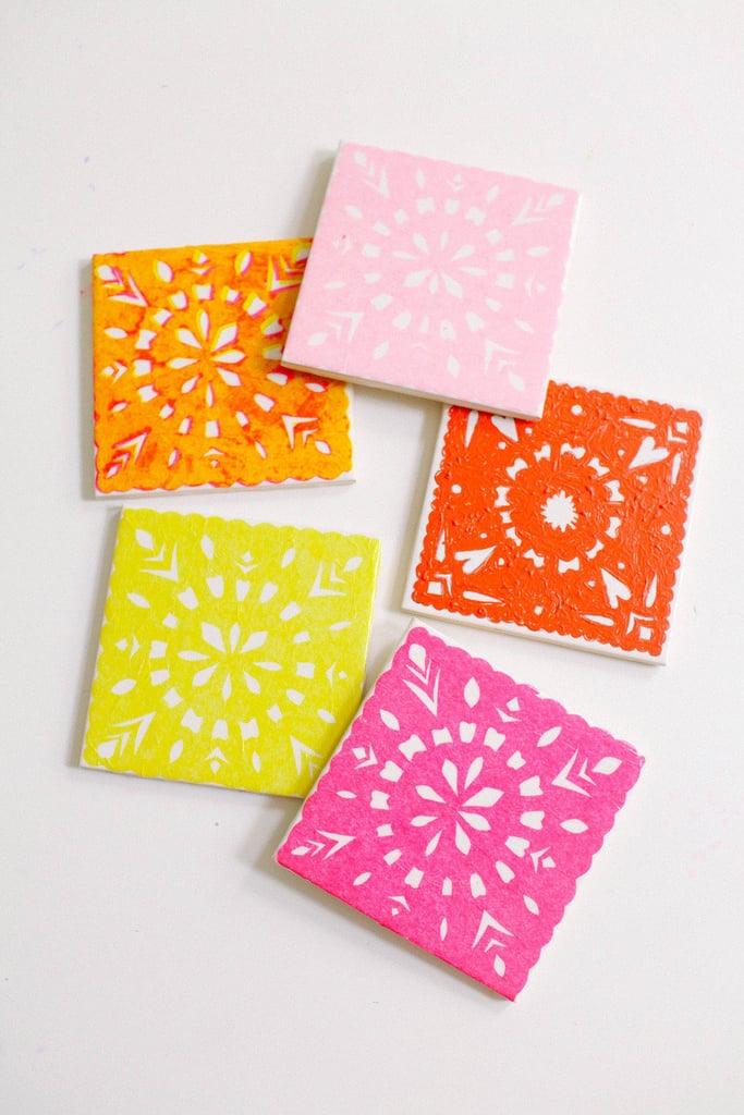 Papel Picado Coasters