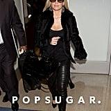 Jessica Simpson Turns JFK Into Her Own Runway