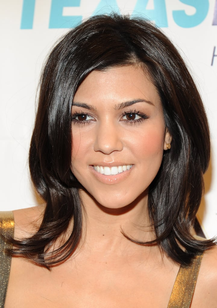 Kourtney Kardashian Best Hairstyles