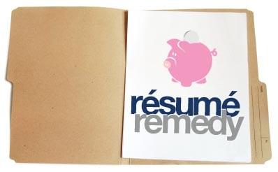 Resume Remedy 2008-05-09 06:44:32