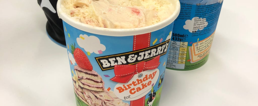 Ben & Jerry's Birthday Cake Flavour Review