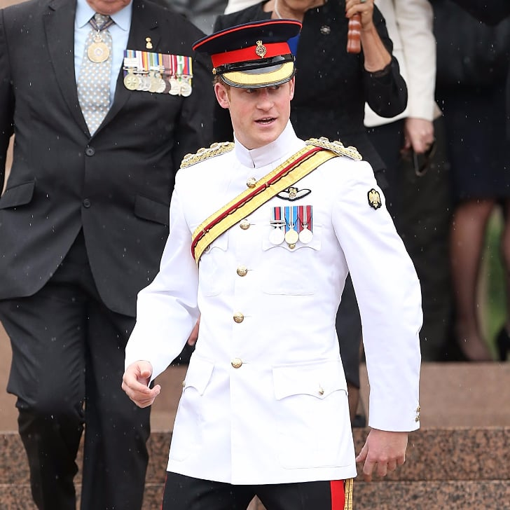 Prince Harry At The Australian War Memorial