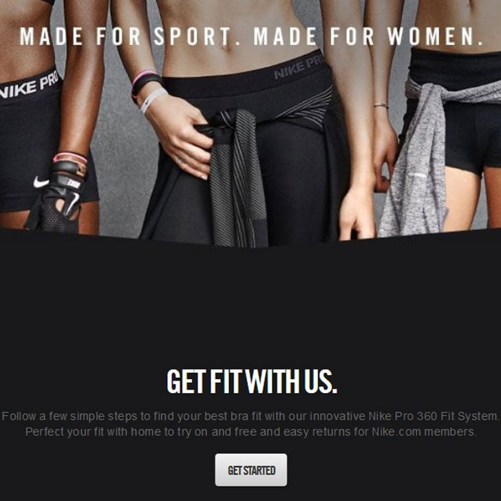 My Nike Pro 360 Fit System Experience