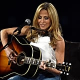 Sheryl Crow performed at the MusiCares event.
