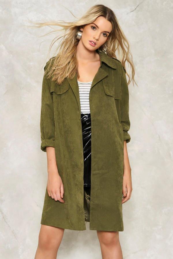 Nasty Gal Remy Trench Coat