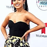 Becky G's Nail Art at the Latin American Music Awards