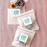 """Eat"" Wedding Favor Labels"