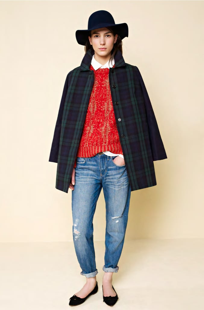 Winter Outfit Inspiration Via Madewell's Fall 2013 ...