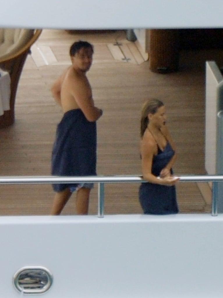 Pictures of Leonardo DiCaprio and Bar Refaeli