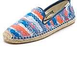 Soludos Malhia Kent x Soludos Tweed Smoking Slipper Espadrilles ($175)
