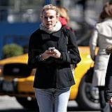 Diane Kruger Takes Her Stylish Self on a Walk Around Chilly NYC