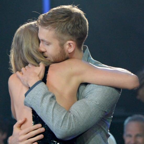 Taylor Swift and Calvin Harris at iHeartRadio Awards 2016
