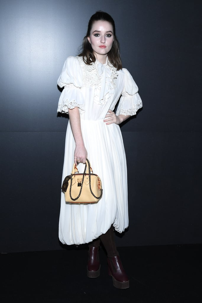 Kaitlyn Dever at the Louis Vuitton Fall 2020 Show