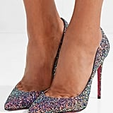 Christian Louboutin Pigalle Follies Glittered Pumps