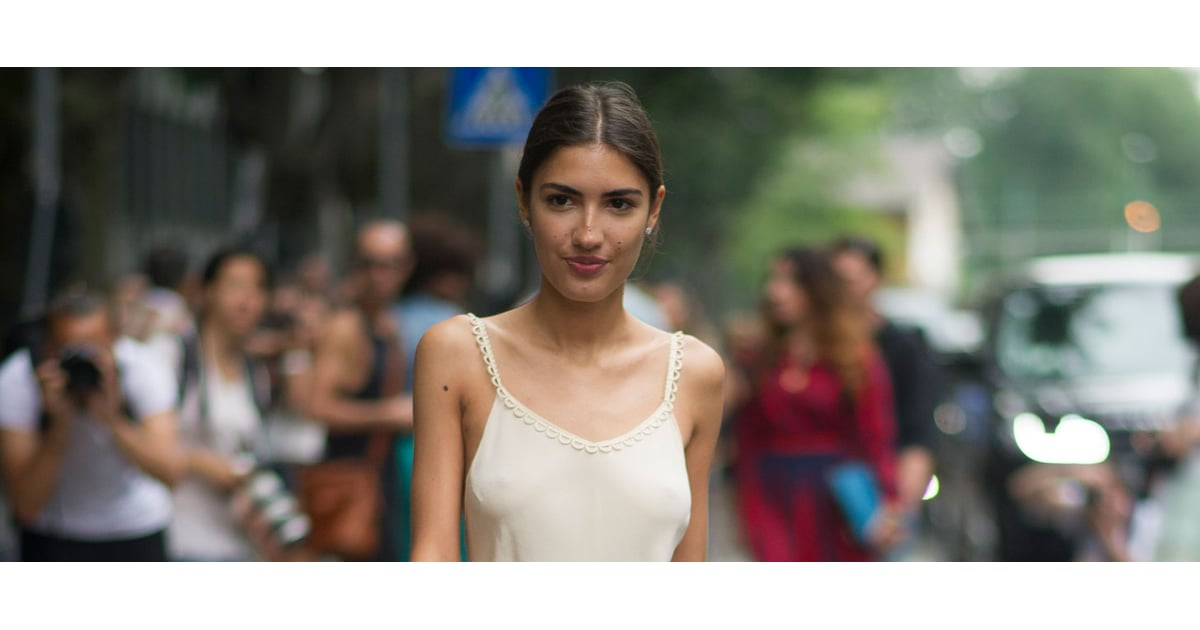 Is Going Braless The Next Big Street Style Trend