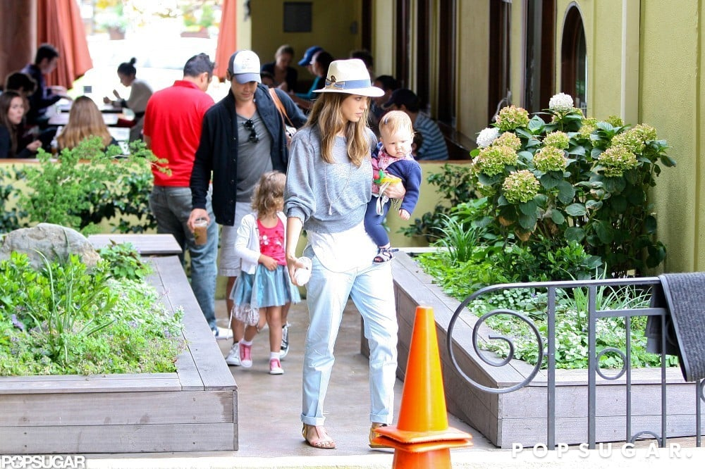 Jessica Alba and Cash Warren stepped out with their daughters, Haven and Honor, in LA on the Fourth.